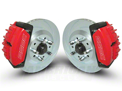 SSBC Force 10 Front Big Brake Kit (05-14 All)