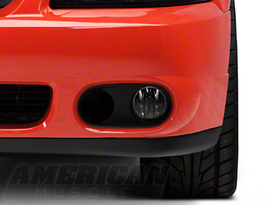 Ford Racing Cobra Bumper Foglight Bezel - Left Side (03-04 Cobra)