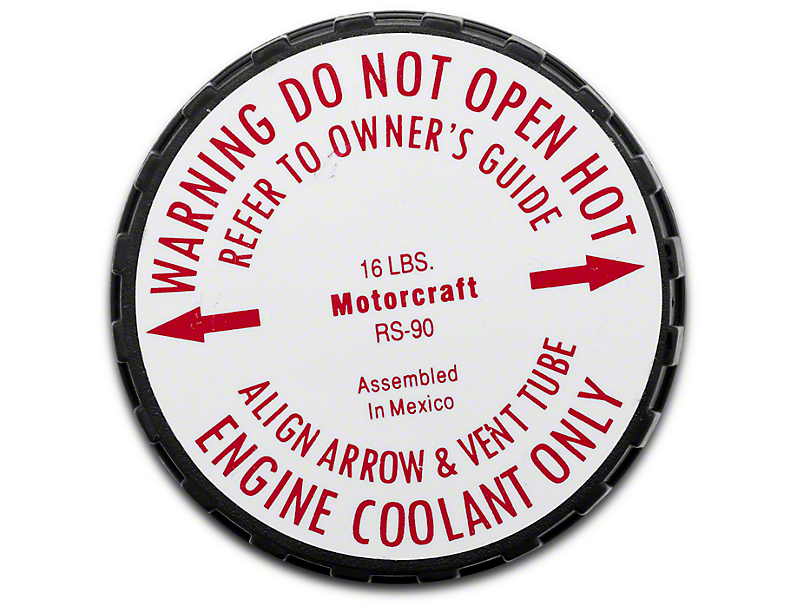 Ford Motorcraft Radiator Cap (79-95 5.0L All)
