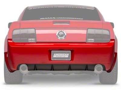 GT500/CS Rear Bumper Cover w/ Diffuser - Unpainted (05-09 All)