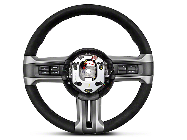 Ford Racing BOSS 302 Alcantara Suede Steering Wheel (10-14 All)