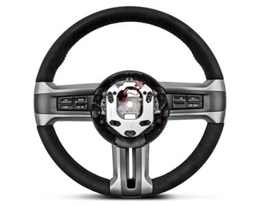 Ford Racing BOSS 302 Alcantara Suede Steering Wheel (10-14 All)