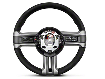 Ford Racing BOSS 302 Alcantra Suede Steering Wheel (10-14 All)