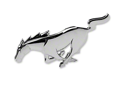 Ford Racing Pony Grille Emblem (10-14 V6)