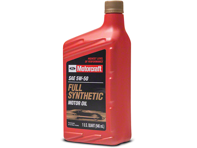 Ford motorcraft mustang oem 5w50 oil xo5w50qgt free shipping for Synthetic motor oil coupons