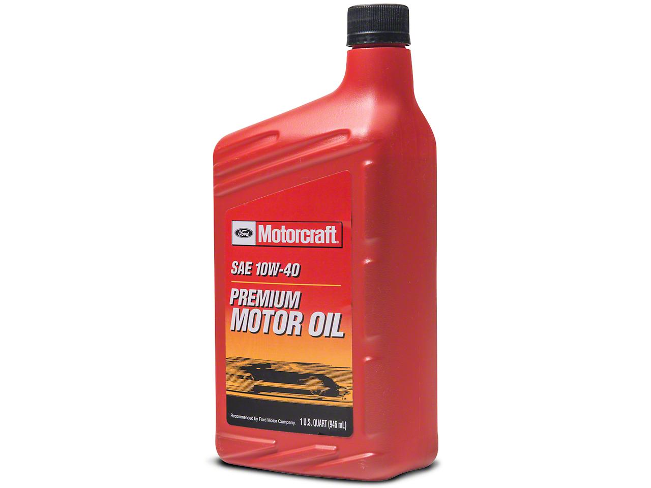 Ford Motorcraft 10W40 Motor Oil