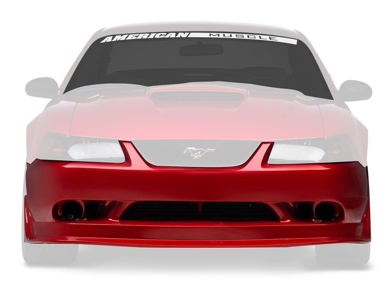 Duraflex Cobra R Front Bumper - Unpainted (99-04 All)