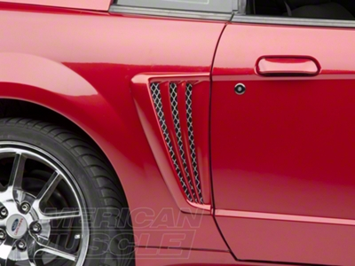 Saleen Style Side Scoops - Unpainted (99-04 All)