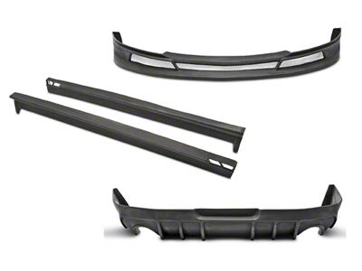 Duraflex Racer Style Body Kit - Unpainted (10-12 V6)