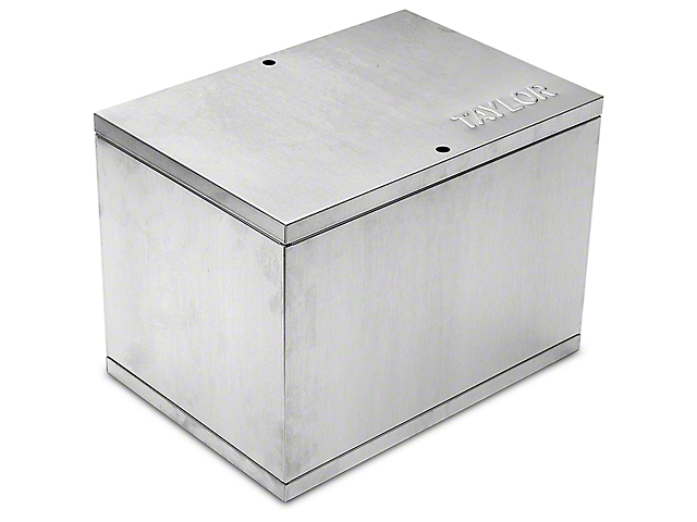 Taylor Aluminum Relocation Battery Box (79-16 All)