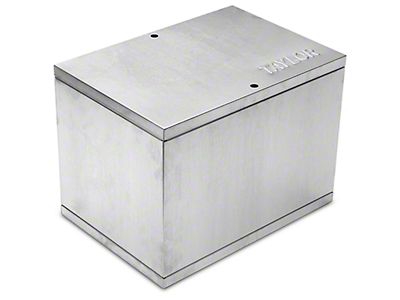 Taylor Aluminum Relocation Battery Box (79-17 All)