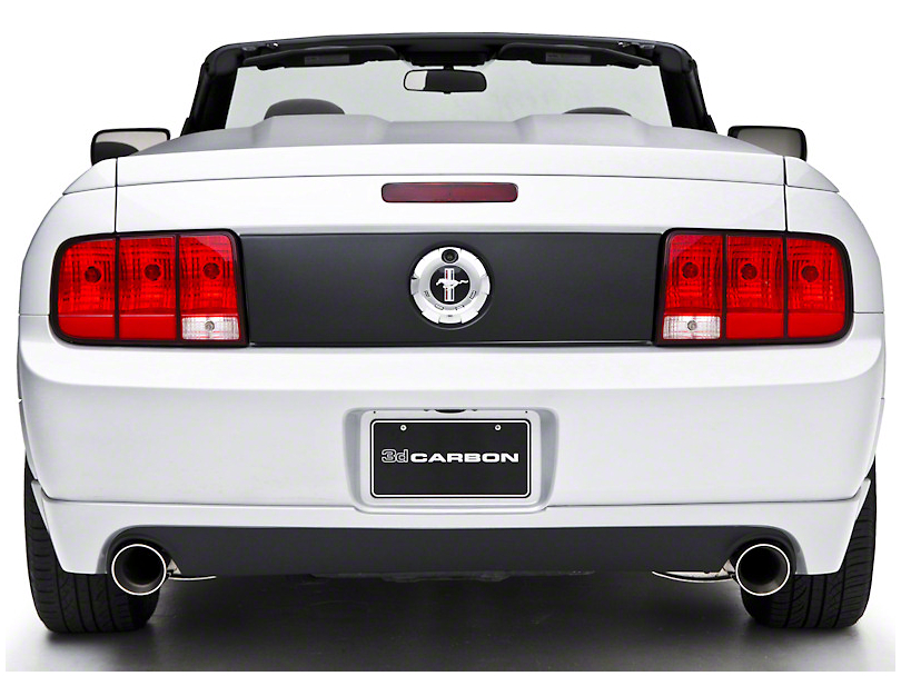 3dCarbon Dual Exhaust Rear Valance (05-09 V6)