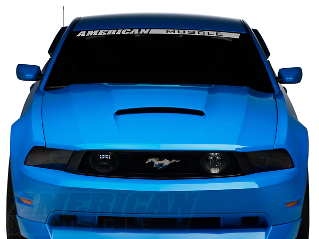 Saleen S281 Powerflow Hood - Unpainted (10-12 GT, V6)