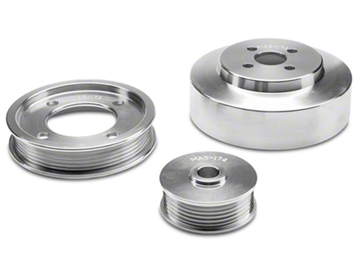 BBK Underdrive Pulleys - Aluminum (94-95 GT)