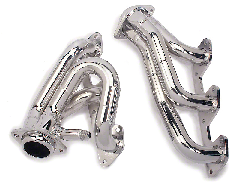 BBK Chrome Tuned Length Shorty Headers (05-10 V6)