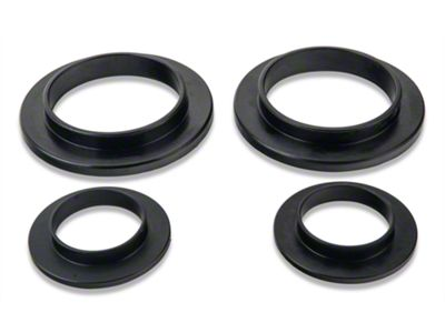 Add SR Performance Polyurethane Spring Isolators - Rear (79-04 GT, V6, Mach 1; 93-98 Cobra)