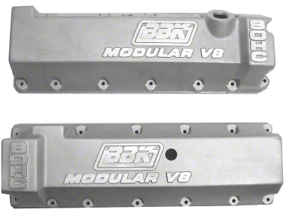 BBK Performance Aluminum Valve Covers - 11 Bolt Driver Side Oil Fill (96-04 GT)