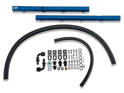 BBK High Flow Aluminum Fuel Rail Kit (99-04 GT)