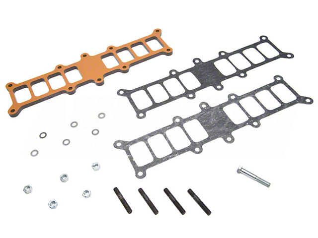 BBK Phenolic Spacer Kit for Edelbrock Intake Manifolds (86-93 5.0L)