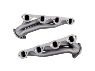 BBK Chrome Unequal Length Shorty Headers (86-93 5.0L)