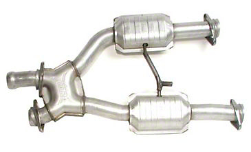 BBK Catted X-Pipe (94-95 5.0L w/ Long Tube Headers)