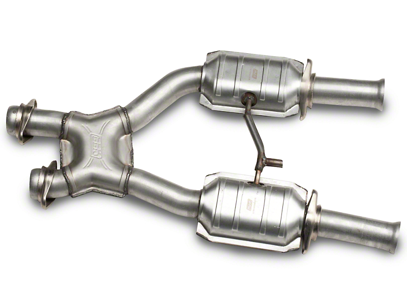 BBK Catted X-Pipe (79-93 5.0L w/ Long Tube Headers)