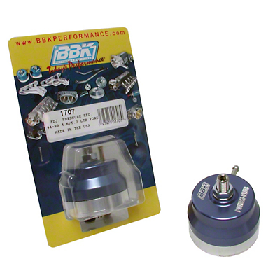 BBK Billet Adjustable Fuel Regulator (94-97 GT; 94-98 Cobra, V6)