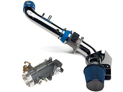 BBK CAI and 78mm Throttle Intake Combo (96-04 GT)
