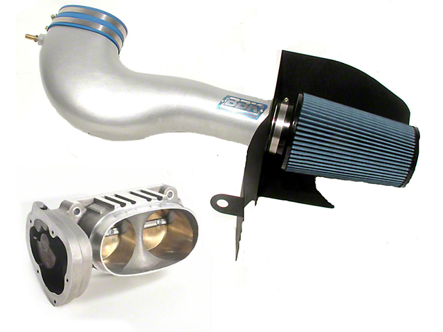 BBK CAI and 62mm Throttle Body Combo (05-09 GT)