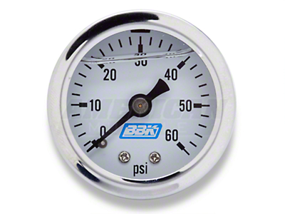 BBK Liquid-Filled Fuel Pressure Gauge (86-93 5.0L)