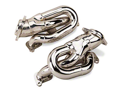 BBK Chrome Tuned Length Shorty Headers (11-14 V6)