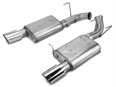 BBK Varitune Axle-Back Exhaust - Stainless Steel (11-14 GT)