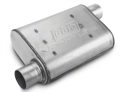 BBK Varitune Muffler - Aluminized 2.5 in. (79-04 All, Excludes 99-04 Cobra)