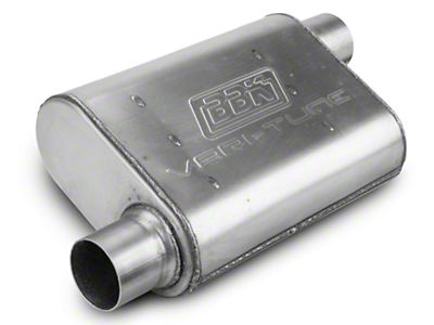 BBK Varitune Muffler - Stainless Steel 2.5 in. (79-04 All, Excludes 99-04 Cobra)