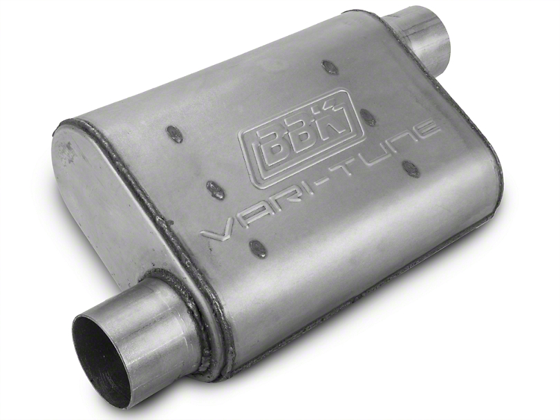 BBK Varitune Muffler - Aluminized 2.75 in. (79-04 All, Excludes 99-04 Cobra)