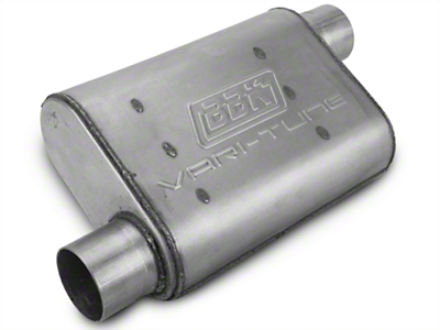 BBK Varitune Muffler - Aluminized 2.75in (79-04 All, Excludes 99-04 Cobra)
