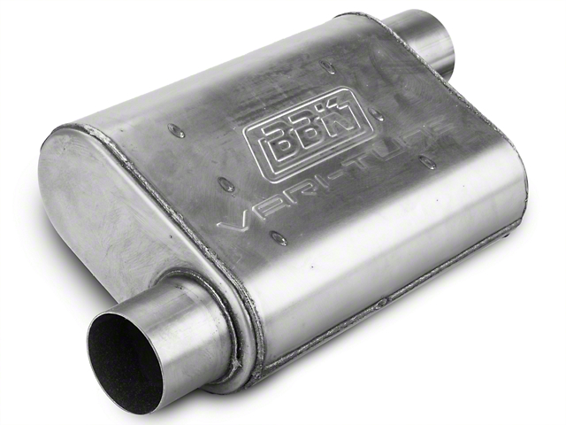 BBK Varitune Muffler - Stainless Steel 2.75 in. (79-04 All, Excludes 99-04 Cobra)