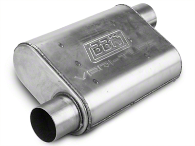 BBK Varitune Muffler - Stainless Steel 2.75in (79-04 All, Excludes 99-04 Cobra)