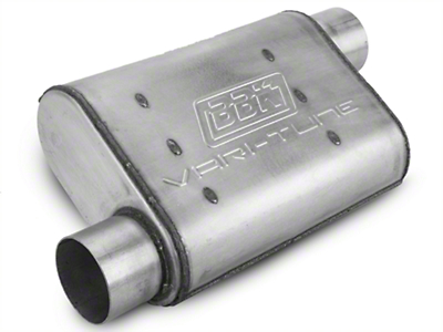 BBK Varitune Muffler - Aluminized 3in (79-04 All, Excludes 99-04 Cobra)