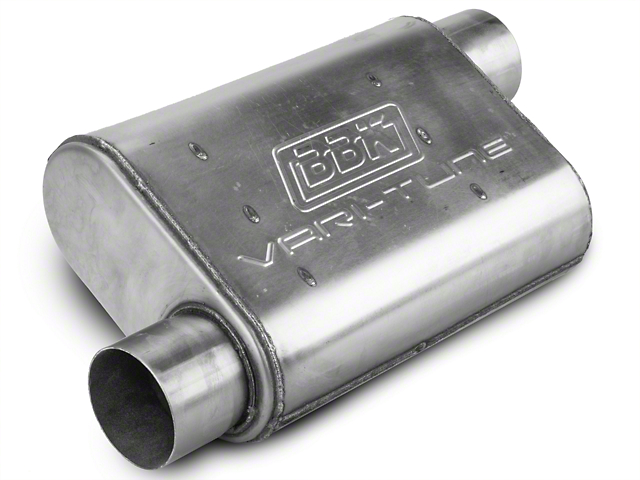 BBK Varitune Muffler - Stainless Steel 3 in. (79-04 All, Excludes 99-04 Cobra)