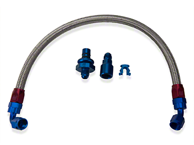 Russell Stainless Steel -AN Fuel Line Kit (05-10 GT)