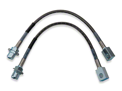 Russell Stainless Steel Braided Brake Line Kit - Front (96-98 GT)