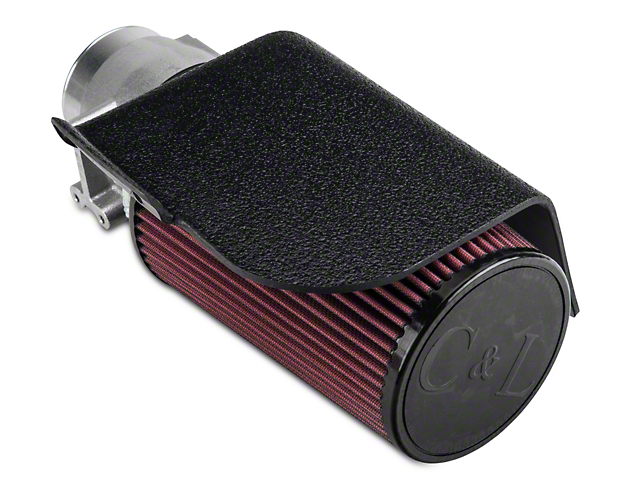 C&L Short Ram Air Intake w/ 82mm MAF (02-04 GT)