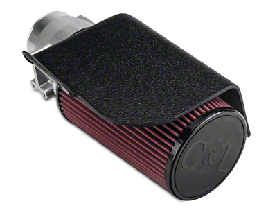 C&L Short Ram Air Intake w/82mm MAF (02-04 GT)