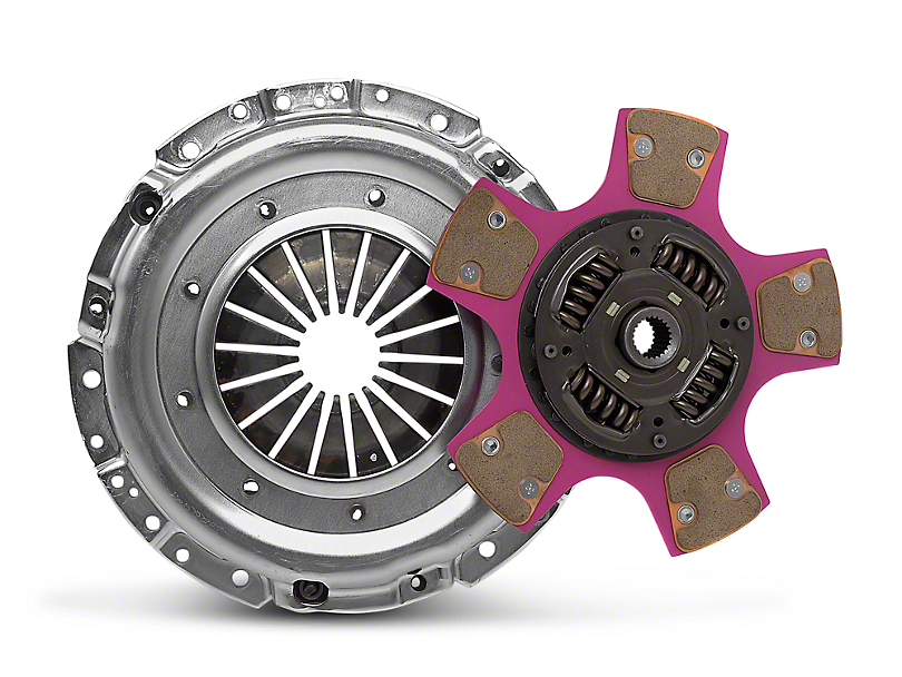 Exedy Mach 700 Stage 4 Clutch w/ Puck-Style Flywheel and Hydraulic Throwout Bearing (05-10 GT) (05-10 GT)