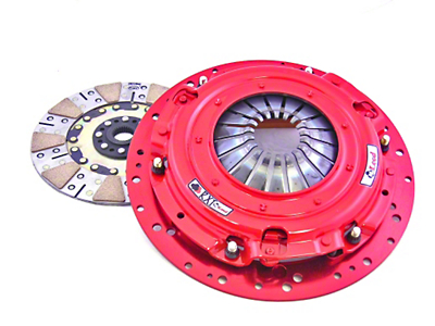 McLeod RXT Twin Disc 1000HP Clutch w/Flywheel - 26 Spline - 8 Bolt (07-10 GT500)