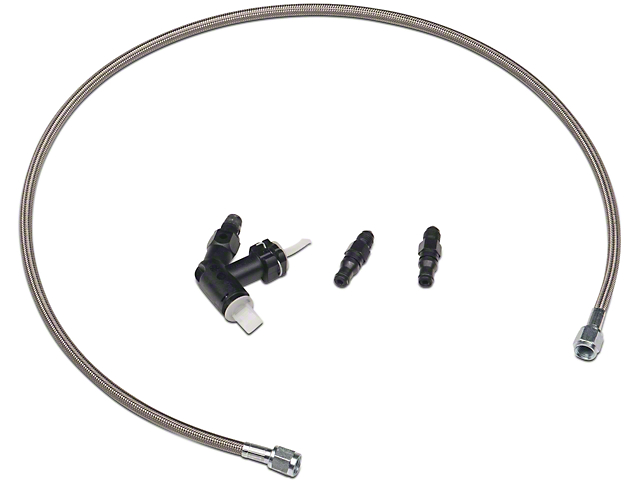 Hydraulic Clutch Bleeding : Mcleod mustang hydraulic clutch bleeder kit