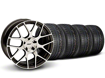 TSW Staggered Nurburgring Gunmetal Wheel & NITTO INVO Tire Kit - 19x8.5/9.5 (05-14)