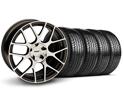 TSW Nurburingring Gunmetal Wheel & Pirelli Tire Kit - 18x8 (05-14)
