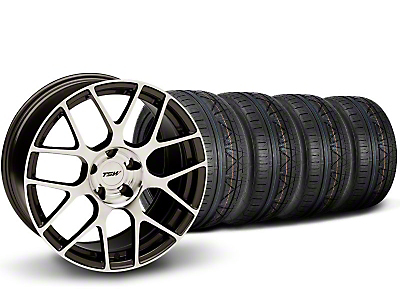 TSW Nurburingring Gunmetal Wheel & NITTO INVO Tire Kit - 18x9 (05-14)